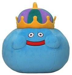Square Enix Dragon Warrior Dragon Quest King Slime Plush Stuffed Toy L-size #SquareEnix