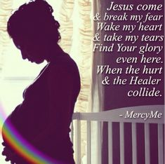 Rainbow after the storm, pregnancy after miscarriage, MercyMe, hold on to HOPE! Pregnancy After Miscarriage, Pregnancy After Loss, Rainbow After The Storm, Baby Mine, Baby Baby, God Is Amazing, Quotes About Motherhood, Infant Loss, Rainbow Baby