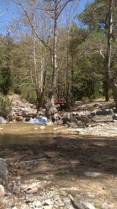Türkei, im Gebirge am Fluss