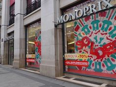 Monoprix department store  50 Av. des Champs-Elysee, Paris VIII  (cw24)