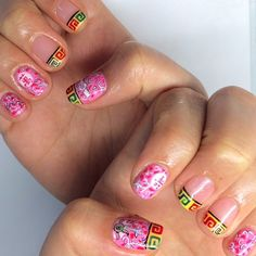 How's that for retro Chinese nail art? Inspired by old skool porcelain bowls that are so hard to buy nowadays.