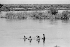 Chilling in the kavango river | SADF troops relax in the Kav… | Flickr - Photo Sharing!
