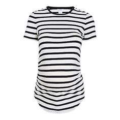 MOM+Striped+Jersey+Top+-+Lindex