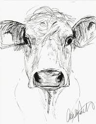 Image result for step by step cow drawing face | ART | Cow