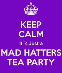 Image result for the mad hatters tea party