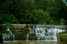 Another water fall that caught my eye as I was sight seeing in Rochester NY...