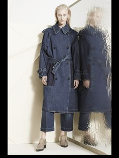 Stella McCartney Pre-Fall 2014, denim coat