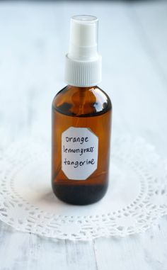 DIY Essential Oil Homemade Perfume - easy to make and all natural.