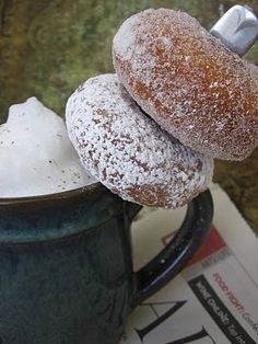Sourdough Cinnamon Doughnuts...yep - I can't wait to try these
