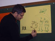 Rafael Salmerón. Ilustrador. Año 2012
