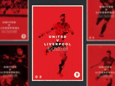 A self initiated project designing posters focused on the AMAZING Manchester United, match day, highlights, stats etc... MATCH DAY!  More to come! All imagery belong to Manchester United.  Follow t...