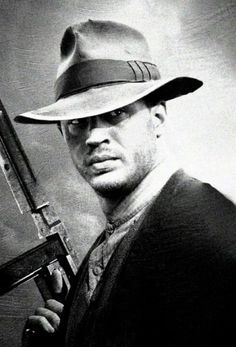 "Tom Hardy in ""Lawless""- he must've said 75 words in that whole movie but man oh man....talk about charisma"