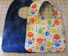 Bibs in ALL Sizes FREE pattern from @Tammy Tarng Fiscus Designs Includes, Infant, Toddler, Bigk Kid & Adult sizes.