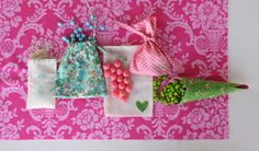 Coordinated Wedding & Party Favors    Sweet Jessie for Sew,Mama,Sew!