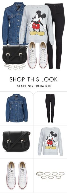 """""""Look #540"""" by foreverdreamt ❤ liked on Polyvore featuring SELECTED, H&M, Forever 21, Converse, Akira, women's clothing, women, female, woman and misses"""