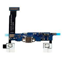 Samsung Charging Connector Flex Cable - оригинална резервна платка с microUSB вход за зареждане за Samsung Galaxy Note 4:… www.Sim.bg