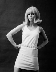 Joanna Lumley (b 1946) model in the 60s who later became an actress and human rights campaigner