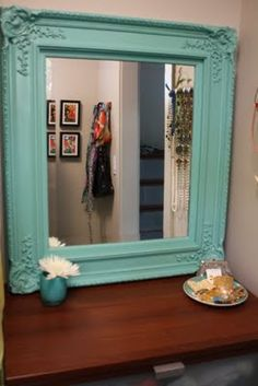 Juba Life: Mirror Makeover / Teal Takeover