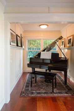 From the grandly elegant to the sharply contemporary, from a crisp, uncluttered hallway to a cosy family living area a piano can be the focal point of any room. #makinpianos Passionate about pianos since 1931