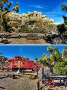 Canyon Caboose $1,199,000, 9574 Black Rock Canyon, Yucca Valley, CA 92284.