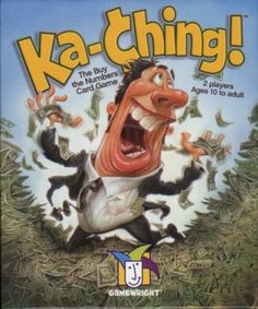 Ka-Ching! for living math. A very fast paced game all about buying and selling stocks.
