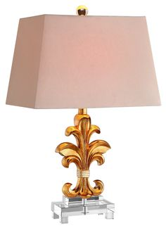 """Brees 23.5"""" H Table Lamp with Rectangular Shade"""