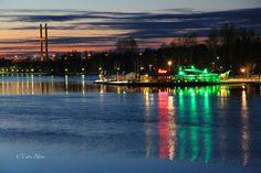 Heinola Finland, Tähtisilta ja RantaCasino by night St.Patrick´s Day 2016