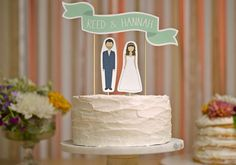 16 topos de bolo de casamento diferentes