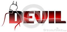 Word #Devil - Download From Over 27 Million High Quality Stock Photos, Images, Vectors. Sign up for FREE today. Image: 36560768 #illustration #image #art #artistic #background #red #word #isolated