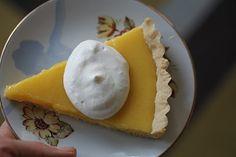 Yummy Supper: Meyer Lemon Tart with Lemon Pastry