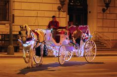 Step up your romance game with a carriage ride.