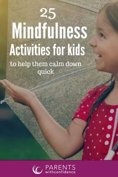 The power of mindfulness to help your child slow down, and improve focus, listening and cooperation is vast. Slowing down to tune into the here and now rewires your child's brain and strengthen's the part of their brain responsible for self-control and pr Teaching Mindfulness, What Is Mindfulness, Mindfulness Exercises, Mindfulness For Kids, Mindfulness Activities, Anxiety Disorder Symptoms, Angry Child, Kids Sand, Anxiety In Children