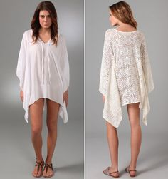 I can make my own beach caftan cover-up!