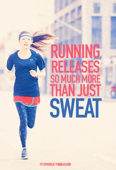 Running releases so much than just sweat. #p90x #fitness #motivation