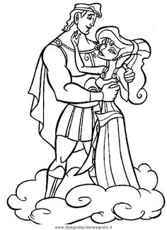 disney coloring pages who remembers the gorgeous meg and hercules from disneys movie lovely colouring page of the two main characters - Disney Movies Coloring Pages