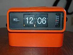 Creio que um dos primeiros Rádio Relógio