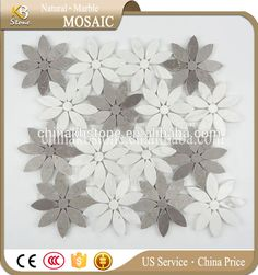 Hot sale mosaic tile water jet mosaic tile marble designs Mosaic Tiles, Jet, Marble, Kids Rugs, Water, Design, Home Decor, Mosaic Pieces, Gripe Water