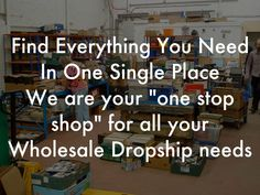 """""""Find Everything You Need In One Single Place We are your """"one stop shop"""" for all your Wholesale Dropship needs"""" - A Haiku Deck: About Us Welcome to our website. We offer a great selection of products at the best prices. All of our products are in stock and ready for shipment to your doorstep!  Our goal is to provide a variety of quality products at a price that is fair and competitive.  We are dedicated in providing our customers with the highest quality products for the best price. We have…"""