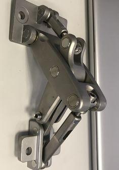 2-3//8 Brass Bushing /& Pin 4 Pieces Heavy Duty Steel Bullet Hinge