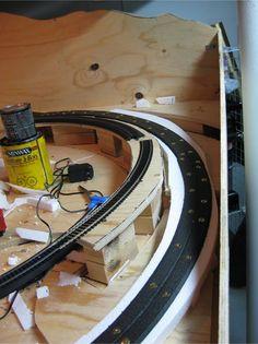 HO Scale Layout Scenery at www.modelleisenbahn-figuren.com