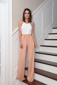 """10 Trendy Internship Outfit Ideas To Beat The Heat This Summer, Frauenmode, """" Internship Outfit, Looks Style, My Style, Mode Outfits, Skirt Outfits, Cute Pants Outfits, Rain Outfits, Trouser Outfits, Hipster Outfits"""