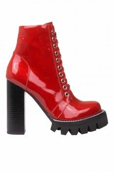 Jeffrey Campbell - Legion 2 P Heeled Lace Up Booties