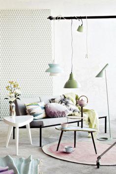 Lovely Pastel Colors / http://www.iltalehti.fi/sisustus/201301080102824_sz.shtml