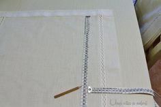 Un tutorial passo passo di come cucire le tende a pacchetto per la tua casa, facile, veloce ed economico. Io le ho realizzate per la mia cucina.
