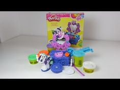 Play-Doh Rarity Style & Spin. Creatable, Colourful, Makeable Fun! - YouTube