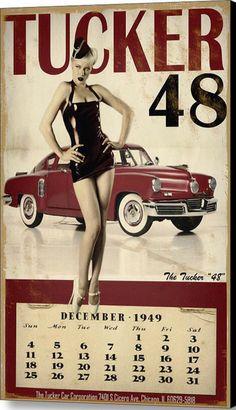 Tucker 1948 calendar.