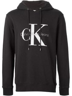 2eee2a6a6fdf Calvin Klein Jeans logo hoodie - an item you ll definitely see street-styled
