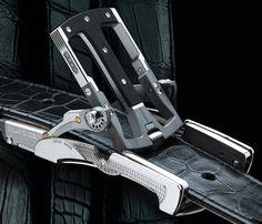 Roland Iten: Highly unique mechanical men's accessories