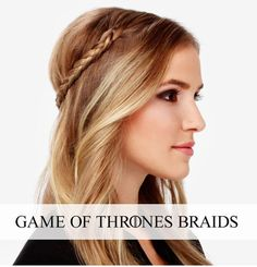 The Game of Thrones Braid | 31 Gorgeous Wedding Hairstyles You Can Actually Do Yourself