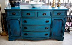 Buffet Makeover in Stormy Seas
